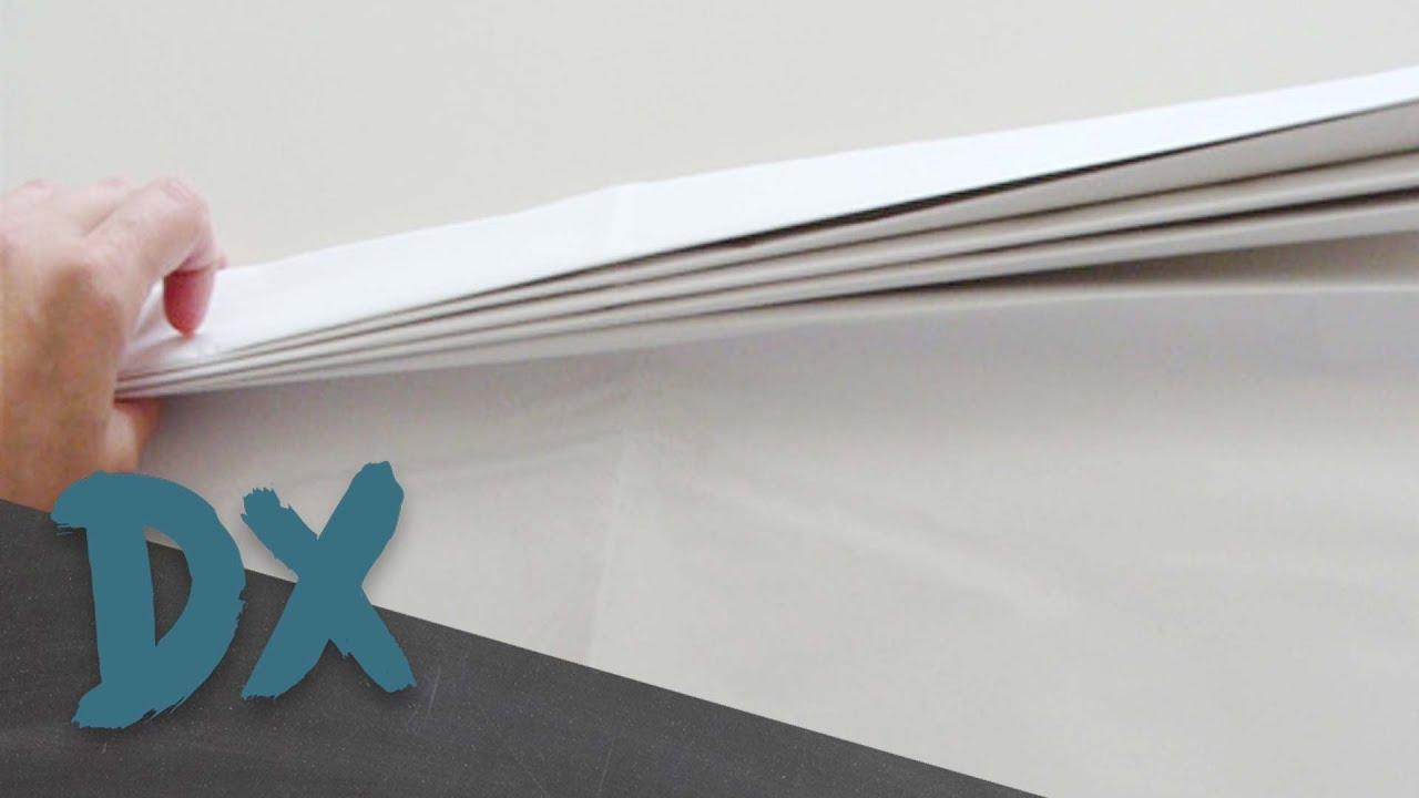 ¿Cuántas veces puedes doblar una hoja de papel?