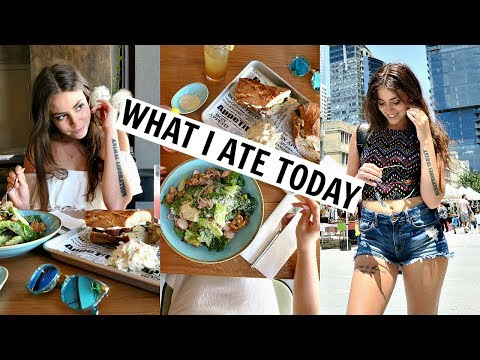 WHAT I EAT IN A DAY // VEGAN