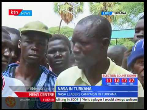 NASA march to Turkana in search of votes
