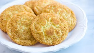 Easy Snickerdoodles Recipe with Soft Chewy Centers - How to Make Homemade Snickerdoodles