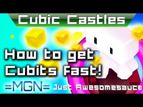 Cubic Castles - How to get cubits fast! + Friend code! No cheats/hacks!