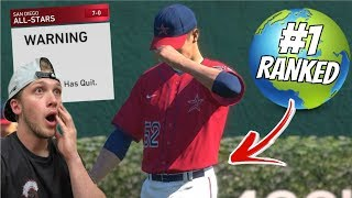 I MADE A TOP PLAYER RAGE QUIT?! MLB The Show 19 Battle Royale