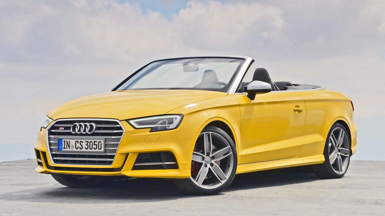 first drive 2016 audi s3 cabriolet youtube. Black Bedroom Furniture Sets. Home Design Ideas