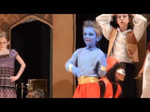 """Aladdin Jr  """"Friend Like Me"""" Aug 2011"""