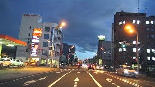 北海道 音更町〜帯広市内 車載動画 2015/10/09