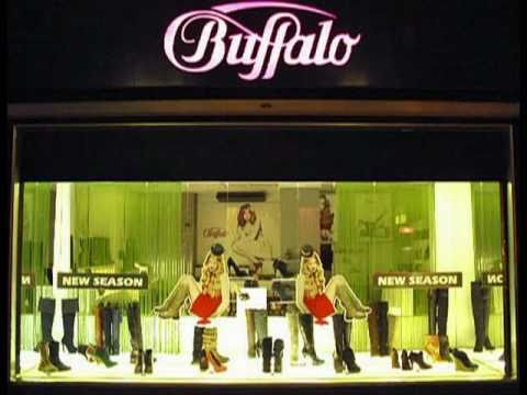 Buffalo new season schaufenster deko youtube for Schaufenster dekorieren ideen