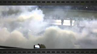 "Mark Schwirse VE ute ""Blown"" Good friday burnouts 2013 CRAZY!!!!!!"