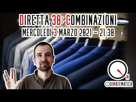 Calcolo combinatorio: un'introduzione - Diretta #38