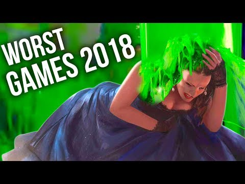 10 Games That SUCKED in 2018