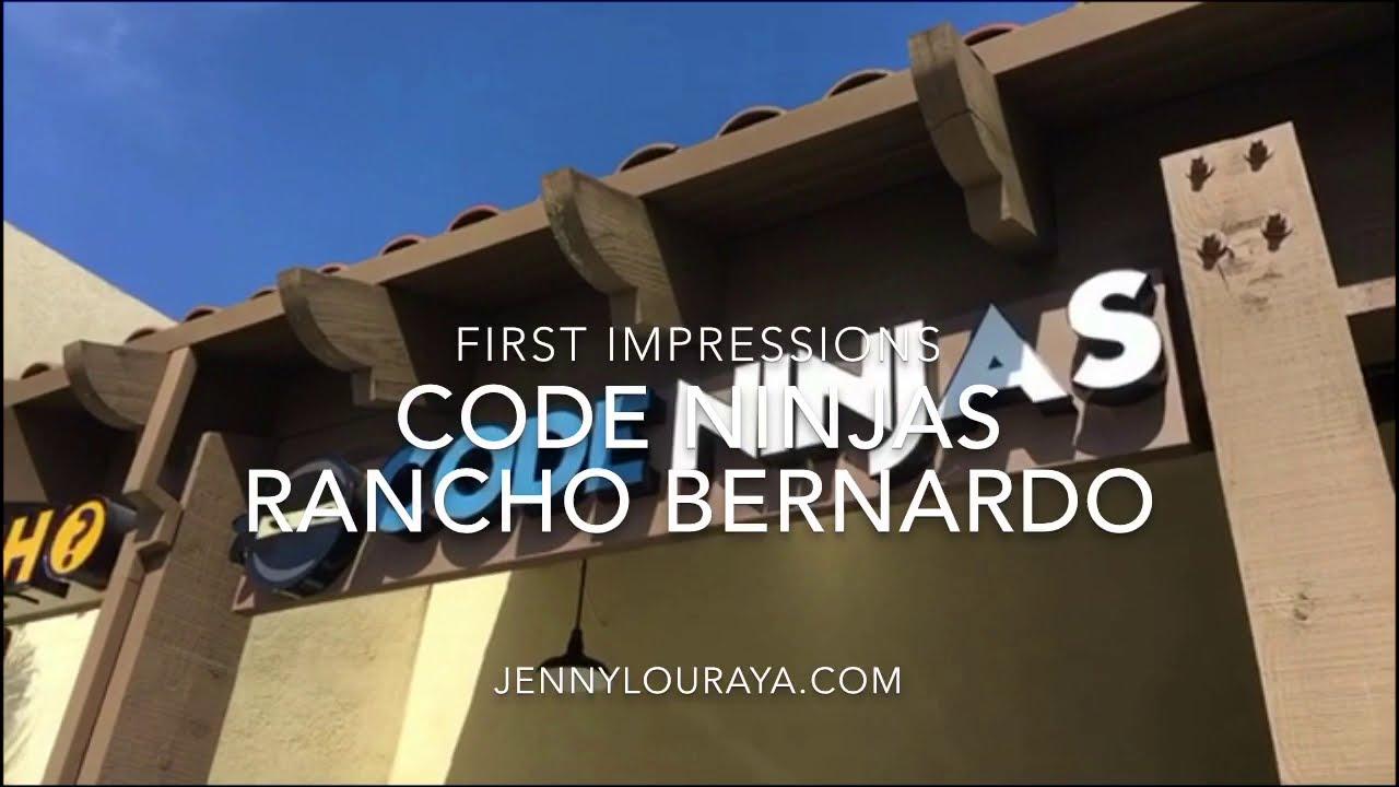 My Kids' Code Ninjas Vlog Review + Open House (Rancho