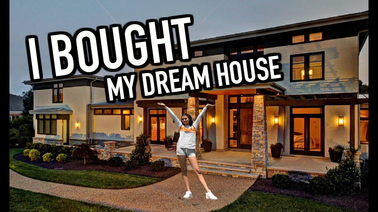 I bought my dream house sneaking into vidcon vlog for Picture of my home