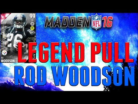 NEW BOSS ROD WOODSON! LEGEND ROD WOODSON PULL! RED ZONE BUNDLE- MADDEN 16 ULTIMATE TEAM PACK OPENING