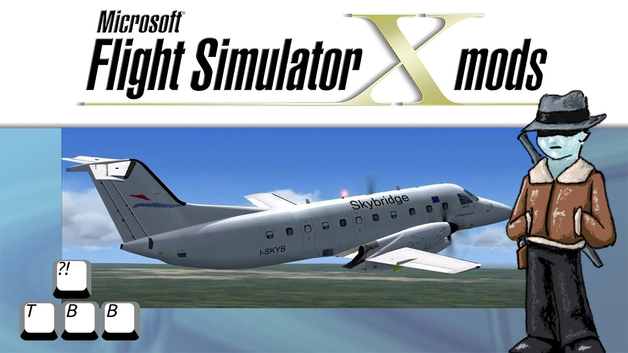Flight Simulator X Plane Spotlight - Embraer EMB-120