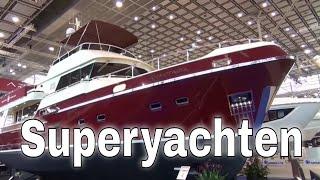 Boot Düsseldorf 2015 - Boot Messe 2015 mit Superyachten und Luxusyachten