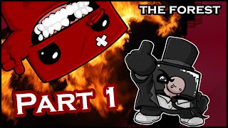 Let's Play SUPER MEAT BOY [ 100% ] - Part 1: The Forest [German]