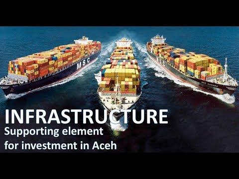 Ketersediaan Infrastruktur Aceh sebagai dukungan terhadap investasi