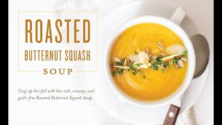 Essential Edibles: Butternut Squash Soup Recipe | Young Living Essential Oils