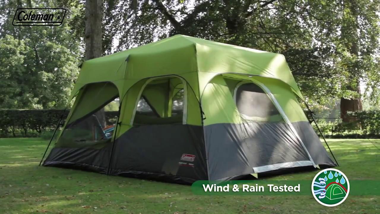 Coleman 174 Fastpitch Instant Cabin 10 With Flysheet En