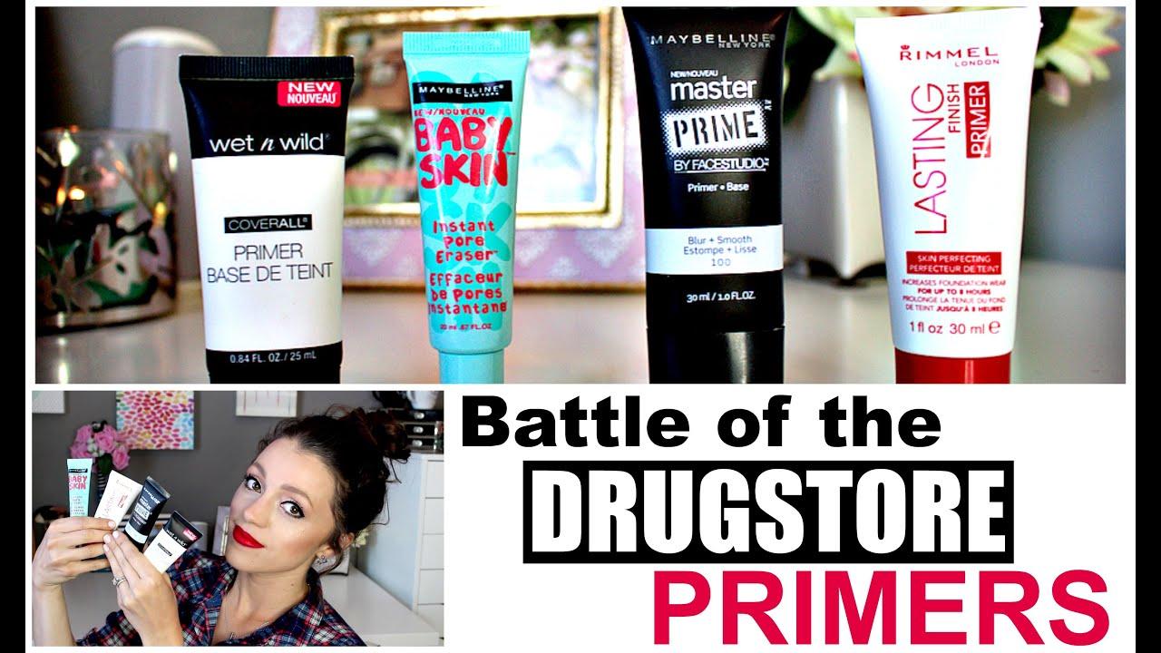 Best drugstore primer for wrinkles and pores