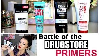 Battle of the Best DRUGSTORE PRIMERS | 2015