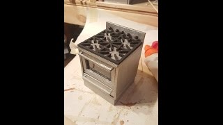 Stove/Range with oven Tutorial