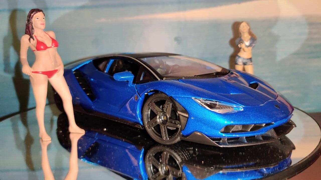 1:18 Lamborghini Centenario + Girls