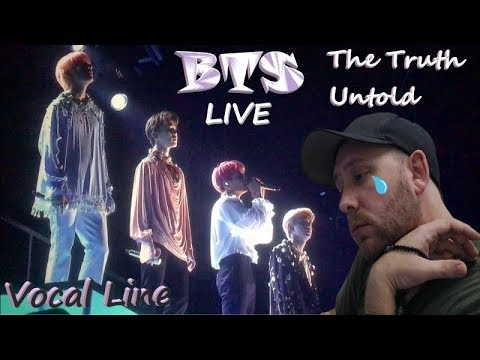Metal Musician Reacts: BTS - The Truth Untold LIVE (Reaction To Jin, Jimin, V And Jungkook)