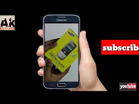Samsung keypad GT-C3322i unboxing and review