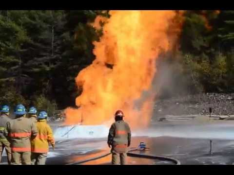 LNG Fire Training