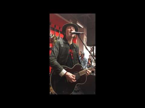Tommy Stinson solo ANYTHING COULD HAPPEN / NOT THIS TIME Woodstock Kingston NY 2017 LIVE Bash & POP