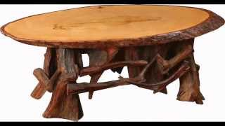 Rustic Coffee Tables Design Ideas