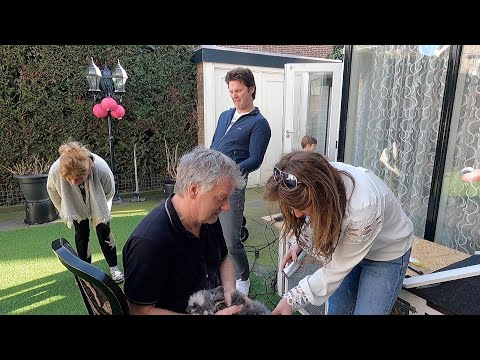 Tennistraining plus knippen van konijn (vlog 4)