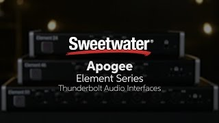 Roger Robin Robindore from Apogee presents the Element series of Th...