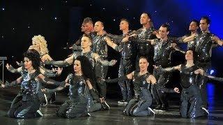 Выступление шоу-балета Аллы Духовой