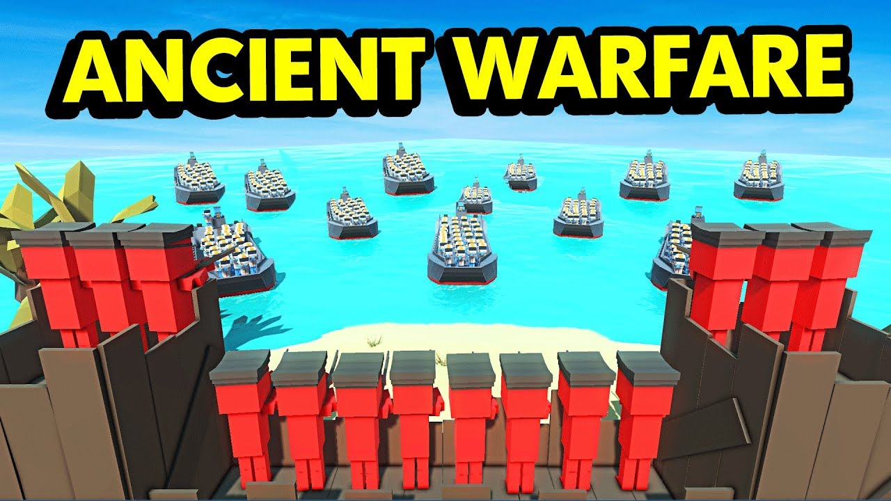 ISLAND D-DAY ATTACK WITH FUTURE UNITS IN ANCIENT WARFARE 3 ...