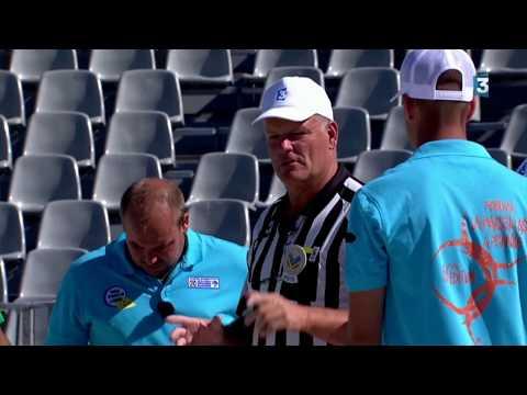 Mondial à Pétanque 2017 à Marseille : première demi-finale Dylan Rocher VS Zeboudj en intégralité