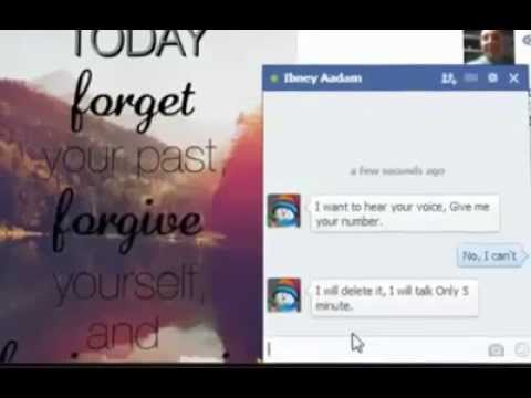 Chatting With Strangers In Facebook Avoid It ..