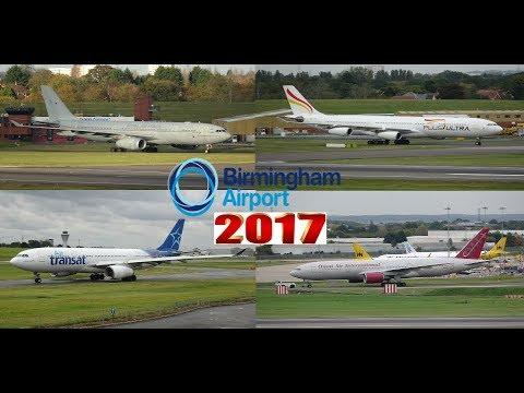 Best of Birmingham Airport 2017