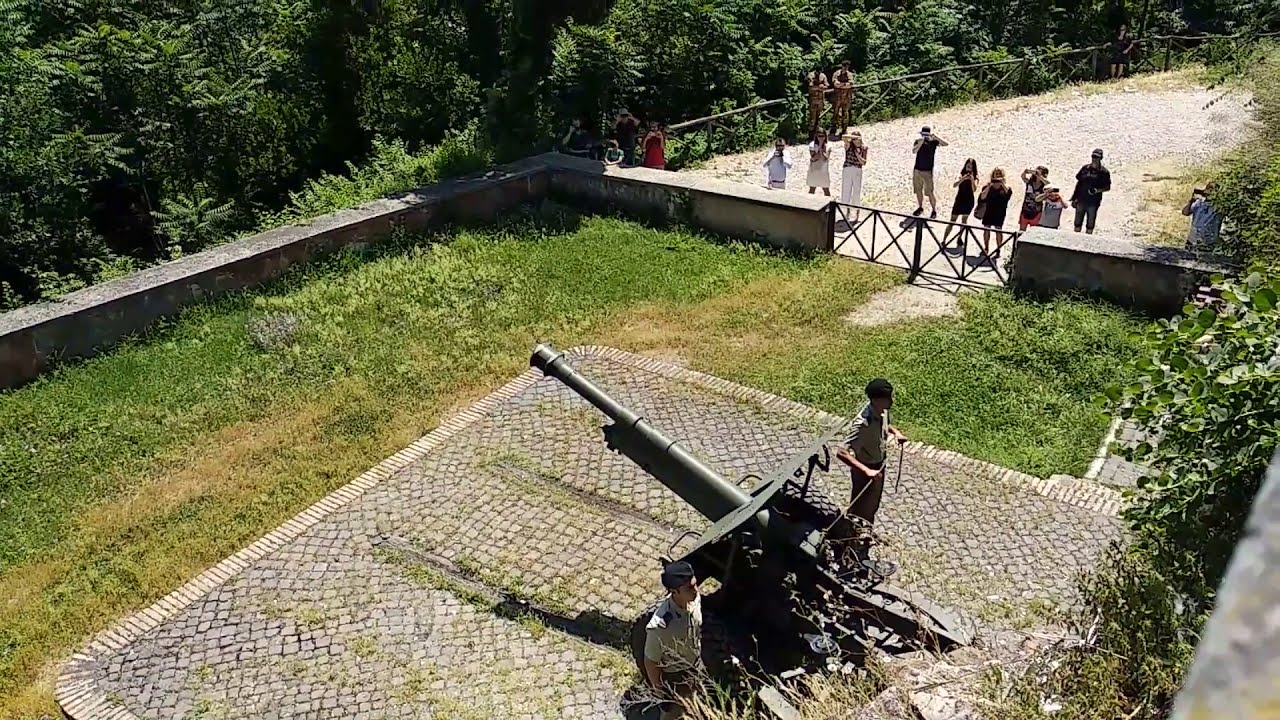 Gianicolo Midday Cannon