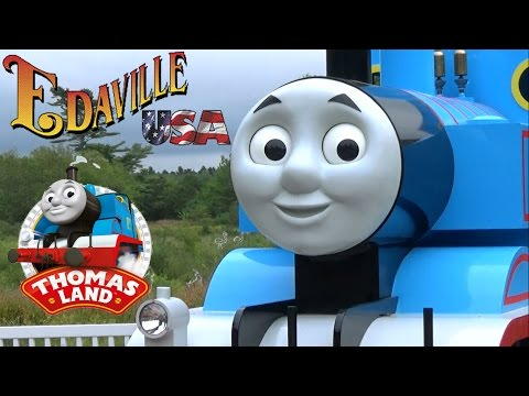 Edaville USA (featuring Thomas Land) Tour & Review with The Legend