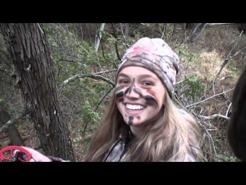 Wisconsin Girl Shoots Her First Deer Ever!