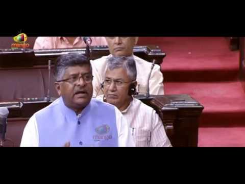Ravi Shankar Prasad Slams Collegium System | Rajya Sabha | Parliament Session | Mango News
