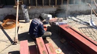 видео изготовление металлоконструкций