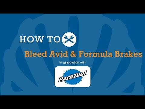 How To Bleed Avid & Formula Hydraulic Disc Brakes