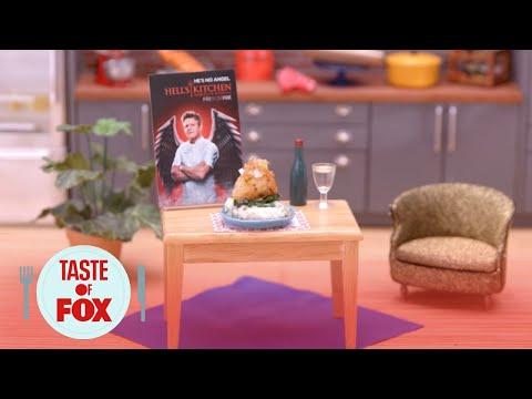 Tiny Kitchen: Halibut   Hell's Kitchen   TASTE OF FOX
