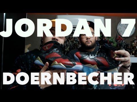 SNEAKER REVIEW : JORDAN 7 DOERNBECHER!!