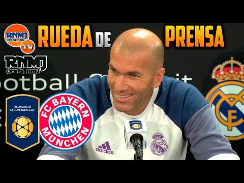 Rueda de prensa previa Bayern Munich - Real Madrid | International Champions Cup (02/08/2016)