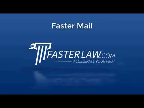 Faster Mail Promo
