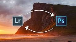 Työskentely Lightroomin ja Photoshopin välillä – 2 tapaa