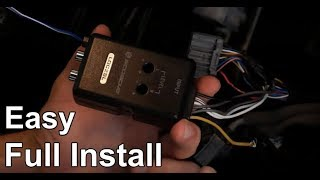 How To Install a Line Output Converter (LOC) To Any Car (Simple) - Aftermarket Sub To Factory Radio